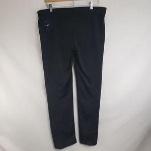 NIKE Black Blue Stars Track Pants